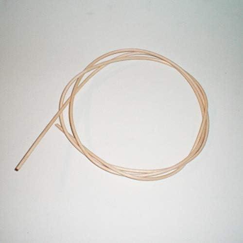 Médula de Junco para reparación de Rejilla Mimbre, sillas, mecedoras, etc. Diametro a Elegir y 2 m de Largo (4 mm)