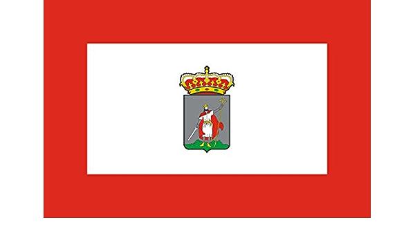 magFlags Bandera XL Gijon   Bandera de Gijón, en Asturias España   Bandera Paisaje   2.16m²   120x180cm: Amazon.es: Jardín