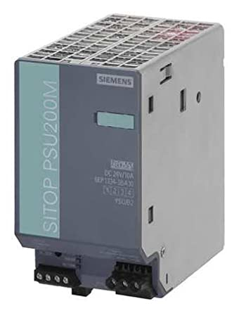 6EP1334-3BA10 | SIEMENS SITOP PSU200M POWER SUPPLY IN: 120/230-500VAC OUT: 24VDC/10A