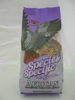 Pretty Bird International Species Specific African Bird Food- 8-Pound