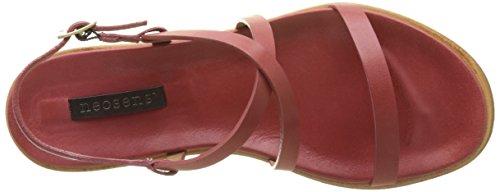 Red Restored Skin Toe Sandals Geranium Geranium Neosens Geranium S946 Aurora Women's Open qEFTxZzW
