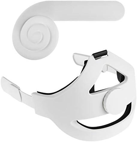 Read more about the article NEWZEROL Kopfpolster + Ohrenschützer[Weiß] Kompatibel mit Oculus Quest 2[Verbesserte Unterstützung],einstellbar Reduzieren des Kopfdrucks, Komfortable Berührung Reduzieren des Headsets Geräuschverlust