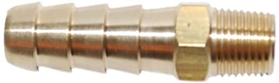 Attwood Universal Hose Barb Fuel Fitting, 1/8 x 3/8-Inch