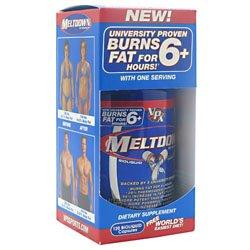 Meltdown VPX RedLine Fat Burner, Liquid Capsules, 120-Count