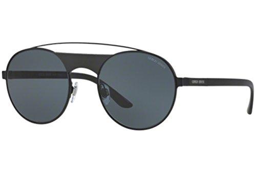 Giorgio Armani  Men's 0AR6047 Matte Black - Armani Sunglasses Round