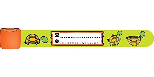 Infoband ID Wristband for kids (Turtle)