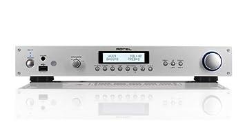 Rotel RA-11 - Amplificador de audio (40W, 0.03%, 100 Db