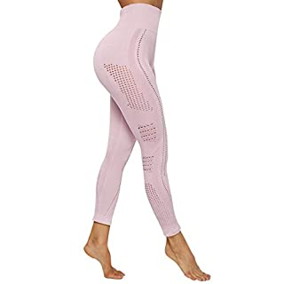 HURMES Women's High Waist Vital Seamless Workout Leggings Butt Lift Tummy Control Anti Cellulite Yoga Pants Active Energy Gym Tights