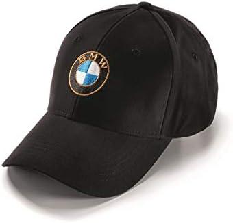 BMW Genuine Motorrad Motorcycle Logo Cap Black One Size