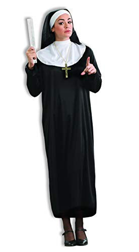 Forum Novelties Women's Plus-Size Nun Plus Size Costume, Black, Plus