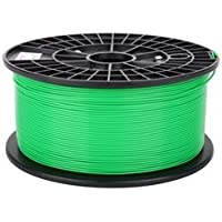 Ink Pipeline, GREEN 1.75MM PLA FILAMENT, 1KG 3D PRINTER FILAMENT