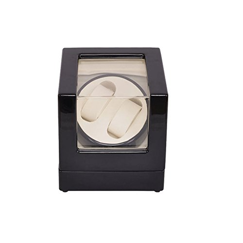 Watch Winder ,LT Wooden Automatic Rotation 2+0 Watch Winder Storage Case Display…
