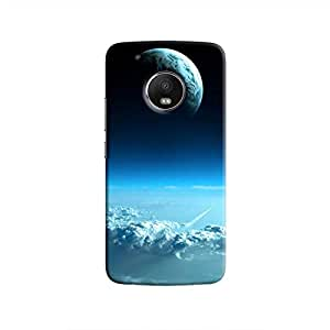 Cover It Up - Blue Planets from Space Moto G5 Hard Case