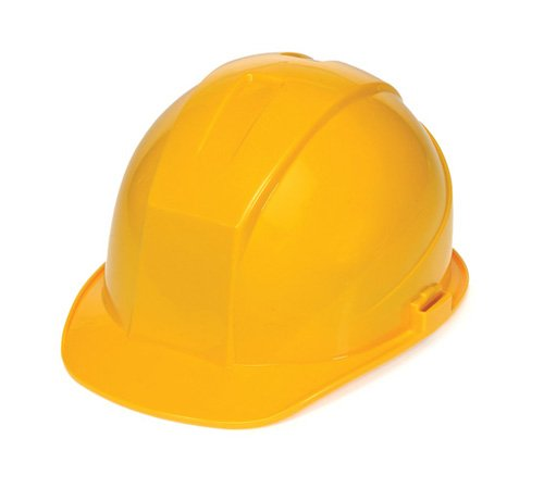 - Liberty DuraShell HDPE Cap Style Hard Hat with 4 Point Ratchet Suspension, Yellow (Case of 6)