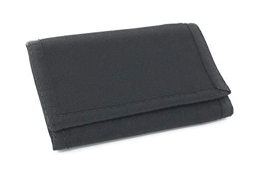(Trifold Nylon Wallet w/ RFID Blocking & Zipper Pocket. Hook & Loop Closure. Made in USA )