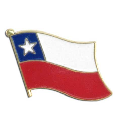 Chile Lapel Pin - Store Online Chile