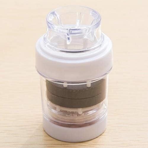 MMXXAIWWAA Maifan piedra magnetizado purificador de agua hogar cocina filtro de agua de grifo diario filtro de agua, blanco: Amazon.es: Hogar