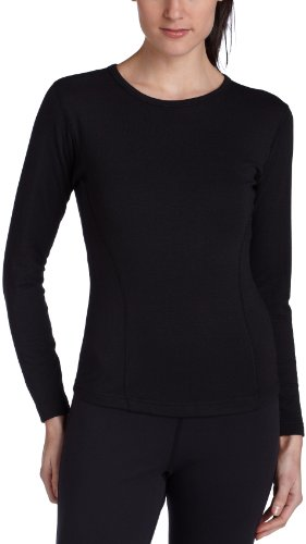 - Duofold Women's Expedition Weight Two-Layer Thermal, Black, Small