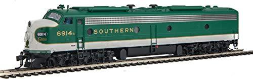 EMD E8A-A SET – LOKSOUND SELECT DCC AND SOUND — SOUTHERN RAILWAY 6905, 6914 (GREEN, WHITE, GOLD)