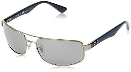 Grey Gafas Gris Ray sol Ban Matte de 61 qZYHTw