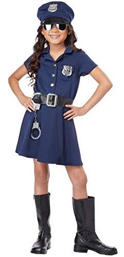Forever Young Girls - Disfraz de policía para niños