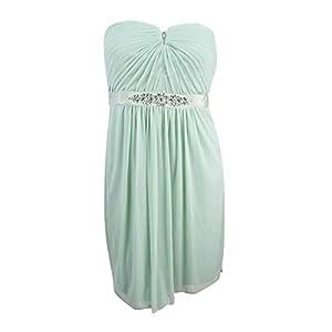 Strapless Mini Prom Dress