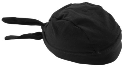 Schampa Stretch Headwrap , Color: Black, Size: OSFM ()