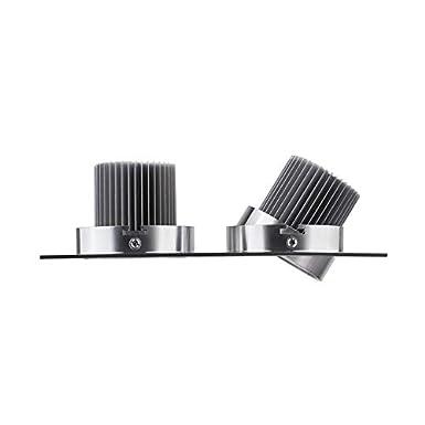 Foco Downlight LED Direccionable Rectangular 2x3x1W Blanco Fr/ío 6000K-6500K efectoLED