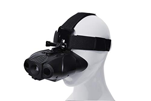X-Vision Pro Rechargeable Digital Hands Free Night Vision Goggles, see 300 yards at night