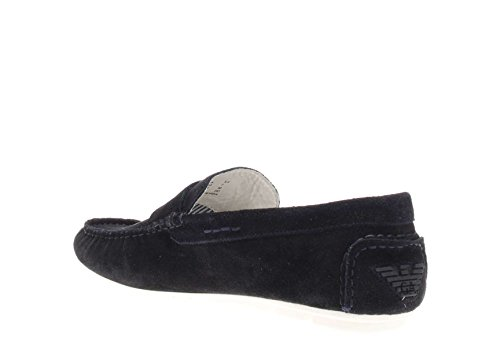Armani Jeans 0658855 Mocassino Da Uomo Blu