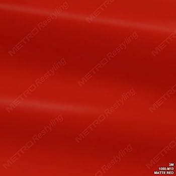 3M 1080 M13 MATTE RED 5ft x 1ft (5 Sq/ft) Car Wrap Vinyl Film