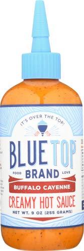 Blue Top Brand Creamy Hot Sauce, Buffalo Cayenne, 9 OZ (Pack - 1)