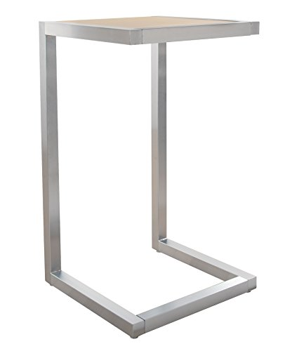 Econoco T504SC-H Pedestal Table, 24'' Length x 24'' Width x 42'' Height by Econoco