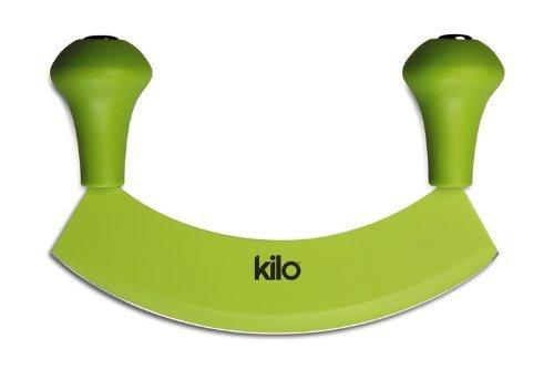 Kilo Rocking Herb Chopper Hachoir with Non-Stick Blade, green by KILO