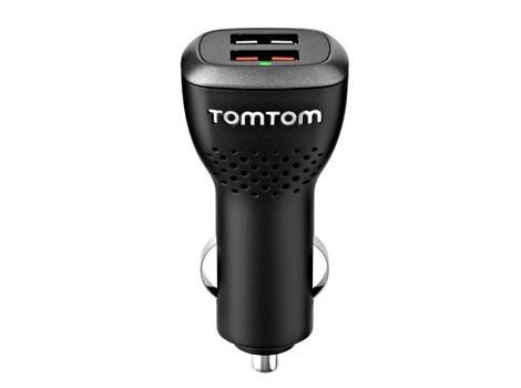 USB GPS Adapter 9UUC.001.22 GENUINE TomTom High Speed Dual-Charger