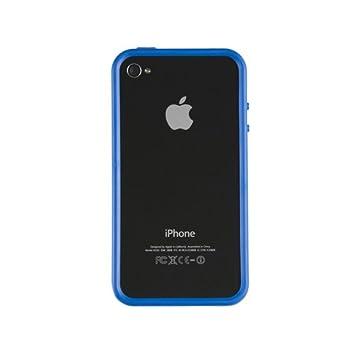 Kensington K39286EUA - Carcasa para iPhone 4, color azul