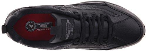 Skechers Shape para el trabajo 76990 Liv Sr Brawney Ups trabajo zapato Black