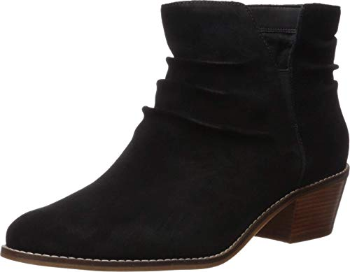 Cole Haan Women's Alayna Slouch Bootie Ankle Boot, Black Suede, 7.5 B US (Womens Ankle Slouch Boots)