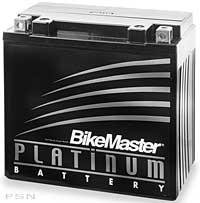 (BikeMaster AGM Platinum II Battery MS12-7ZS)