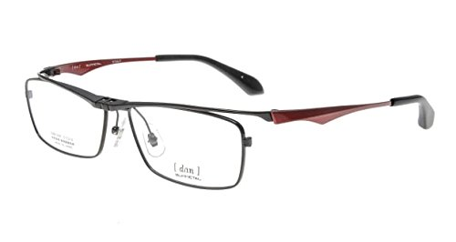 乳製品病気結婚跳ね上げメガネ DUN ドゥアン 2101 全5色 国産 チタン はねあげ式(追加で度付レンズ、ブルーカットレンズも選べる)