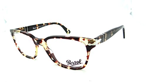 483b2cf494 Persol Rx Eyeglasses Frames 3003 V 985 52x18 Tabacco Virginia Made in Italy  - Buy Online in UAE.