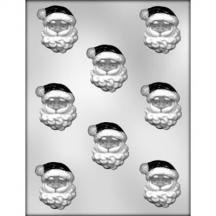 (3 Pack, Santa Face Chocolate Mold)