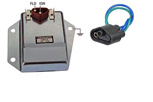 HD EXTERNAL VOLTAGE REGULATOR KIT WITH HARNESS CHRYSLER DODGE