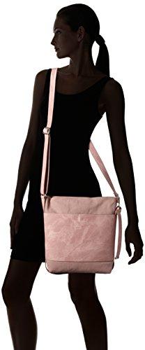 ESPRIT 047ea1o001, Sacs bandoulière femme, Pink (Old Pink), 8x31x25 cm (B x H T)