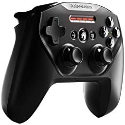 SteelSeries Nimbus+ Bluetooth Mobile Gaming Controller with iPhone Mount, 50+ Hour Battery Life, Apple Licensed, Made for iOS, iPadOS, tvOS