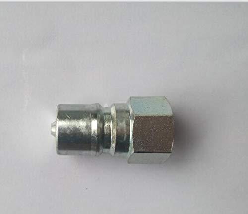 Fevas 3//8 ISO 7421 B Series Steel Male Hydraulic Quick couplings Hydraulic Quick Coupler