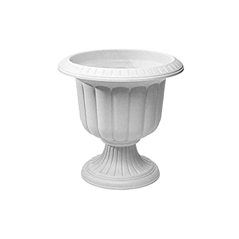 Amazon Com Classic Urn Planter Stone 14 Inch Outdoor Urns
