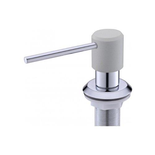 Franke Sirius 0.35L Acero inoxidable Dispensador de jab/ón 270 mm, 8,4 cm, 12,6 cm, 14,4 cm, 4 cm, 2,8 cm Blanco