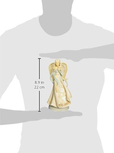 Enesco Foundations Hope Angel Stone Resin Figurine Home Garden Decor Figurines