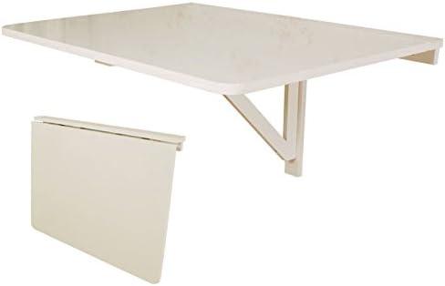 SoBuy® Mesa plegable de pared, mesa plegable, mesa de madera, mesa ...